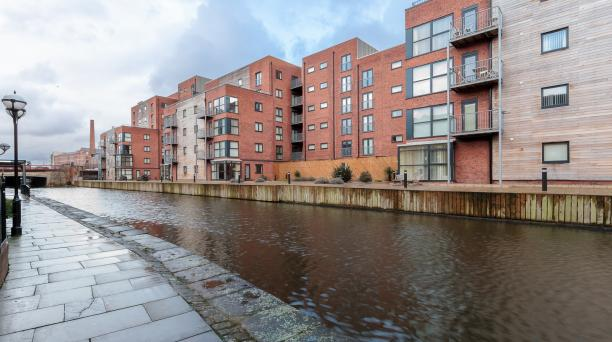 buy to let deal in manchester in front of canal