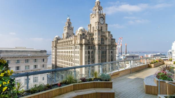 birdseye view of buy to let property in liverpool
