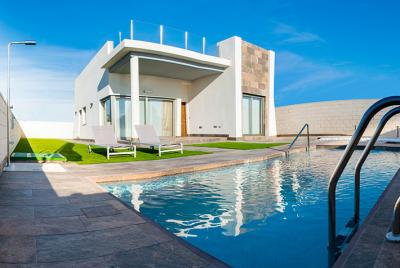 large villa in spain with private pool